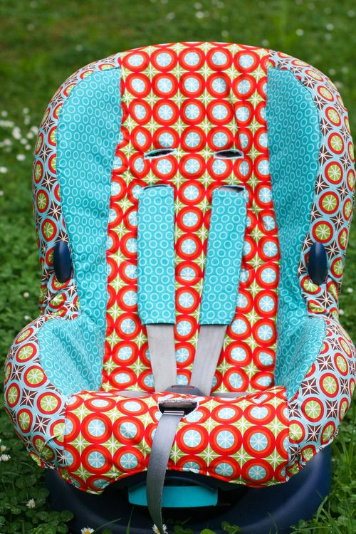 Car seat finished large